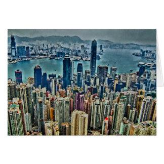 Cartão Ilha de Hong Kong