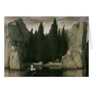 Cartão Ilha do morto, Arnold 1883 Bocklin