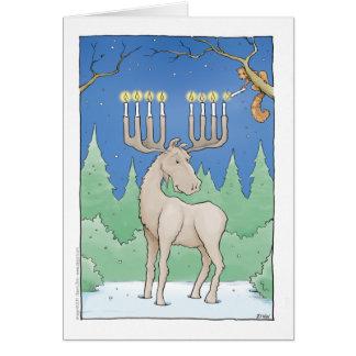Cartão iluminando o moosnorah
