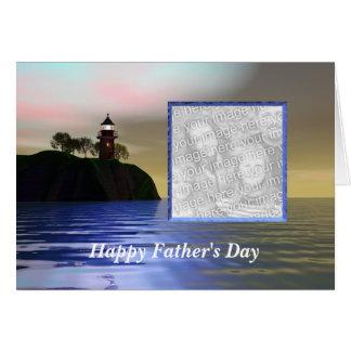 Cartão Ilumine o dia dos pais da maneira (o quadro da