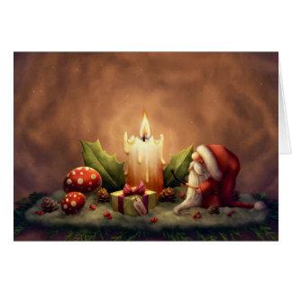 Cartão Ilumine uma vela