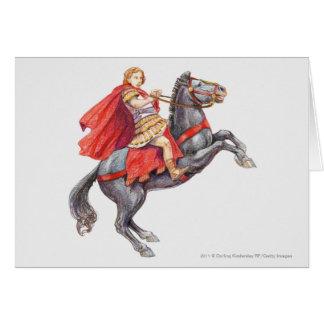 Cartão Ilustração de Alexander o excelente