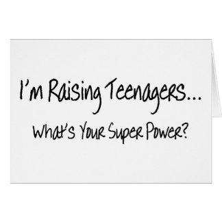 Cartão Im adolescentes de levantamento o que é seu poder