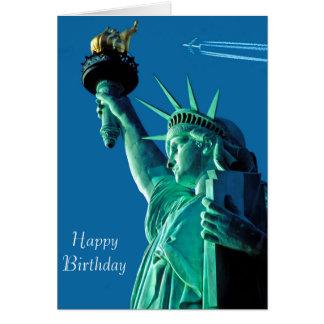 Cartão Imagem da estátua da liberdade para o