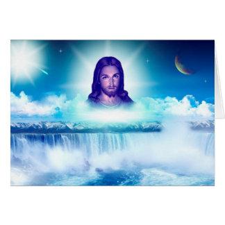 Cartão imagem de jesus