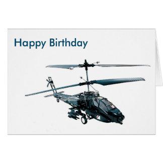 Cartão Imagem do helicóptero do brinquedo para o