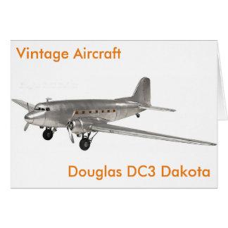 Cartão Imagem dos aviões para o