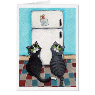 Cartão Imãs de geladeira