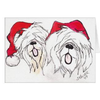 Cartão IMG um Natal de SheeperDoodle