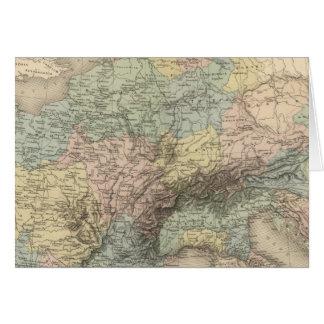 Cartão Império de Charlemagne