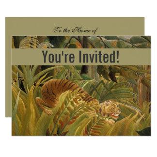 Cartão Impressão feito sob encomenda da arte do tigre