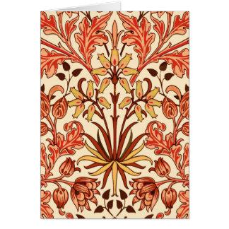 Cartão Impressão, laranja e oxidação do jacinto de