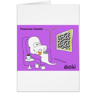 Cartão Inactividade Paranormal