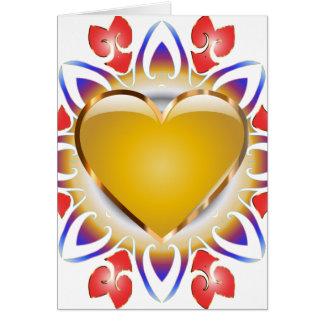 Cartão Incandescer-Coração-Cartões