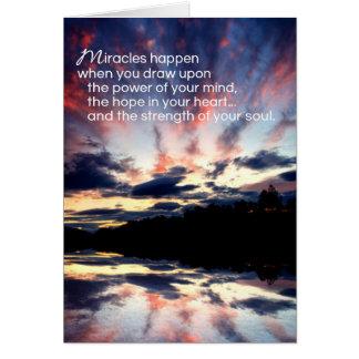Cartão Incentivo dos milagre…