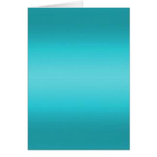 Cartão Inclinação azul do Aqua escuro e claro - turquesa