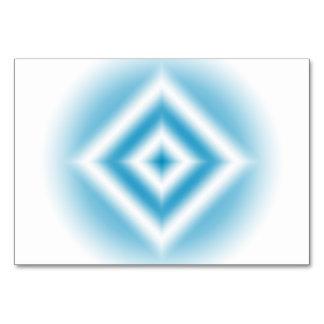 Cartão inclinação azul do diamante do Personalizar-céu