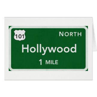 Cartão Incluir branco padrão dos envelopes de Hollywood