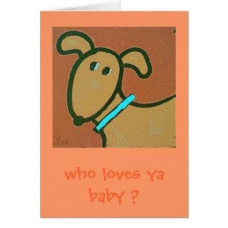 Cartão incondicional do amor