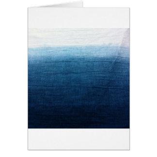 Cartão Índigo minimalista da aproximação 2