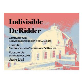 Cartão indivisível de DeRidder