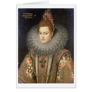 Cartão Infanta do Eugenia de Isabella Clara 1566-1633)