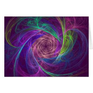 Cartão Infinidade colorida