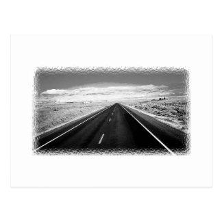 Cartão infinito da estrada