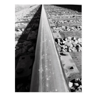 Cartão infinito do caminho de ferro
