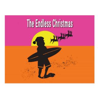 Cartão infinito do Natal