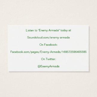 Cartão inimigo da promoção da armada