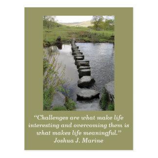 Cartão inspirado; Desafio 1 -