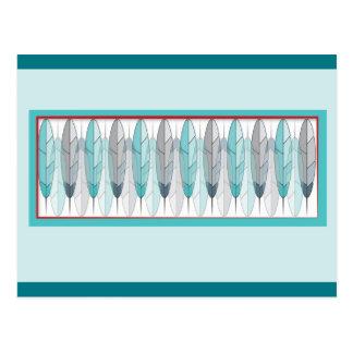 Cartão inspirados nativo americano do design da
