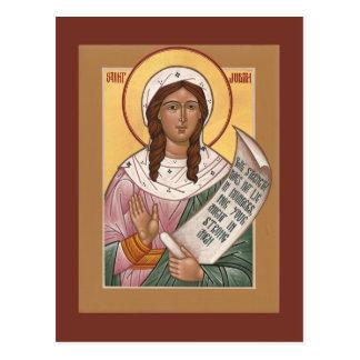 Cartão íntegro da oração de Judith