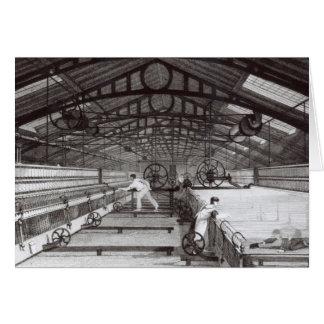 Cartão Interior de um moinho de algodão