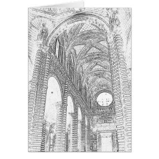 Cartão Interior gravado