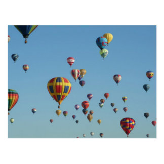 Cartão internacional da festa do balão