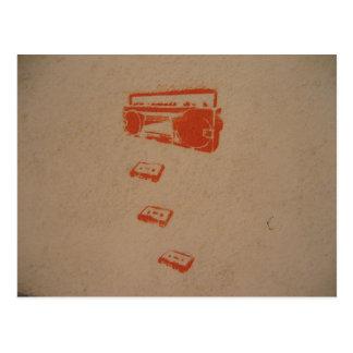Cartão internacional dos grafites