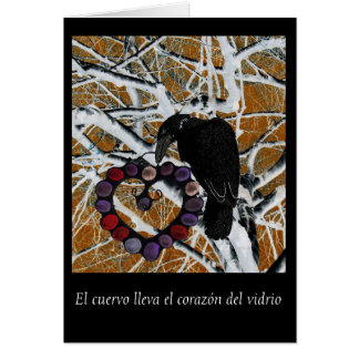 Cartão interno do vazio do EL cuervo