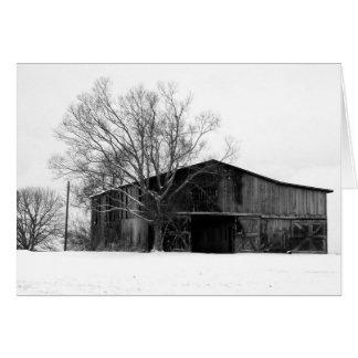 Cartão Inverno no Bluegrass