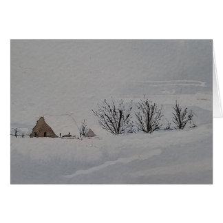 Cartão Inverno no país
