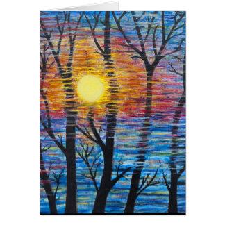 Cartão Inverno Sun