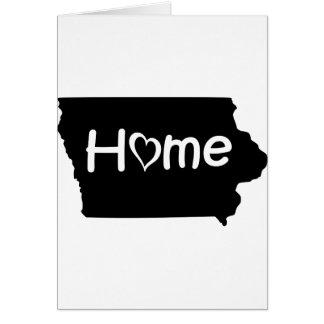 Cartão Iowa