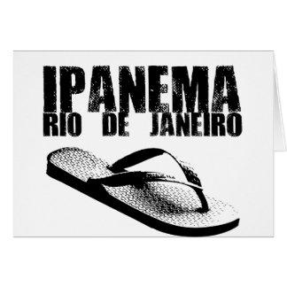 Cartão Ipanema, Rio de Janeiro