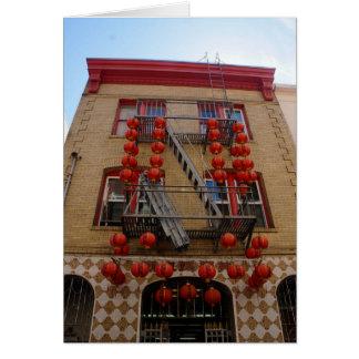 Cartão iPhone do templo de San Francisco Chinatown 8/7 de
