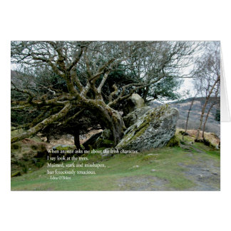 Cartão IrishTrees