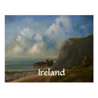 Cartão irlandeses da arte