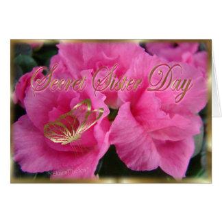 Cartão Irmã secreta Day2-customize