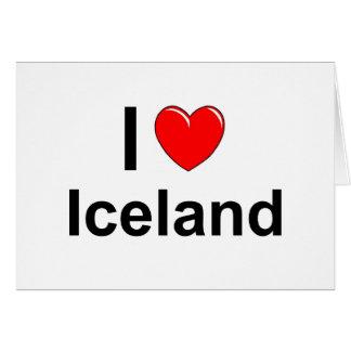Cartão Islândia