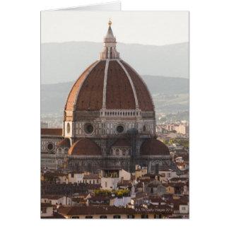 Cartão Italia, Florença, abóbada da catedral do domo